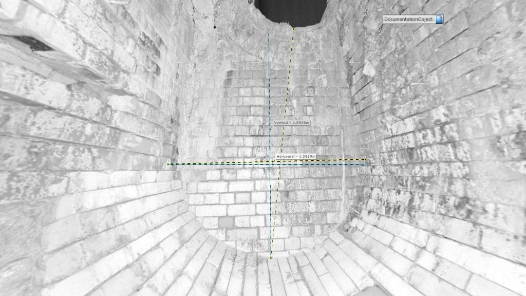 1st Horizon inverted 3D Laser Scan