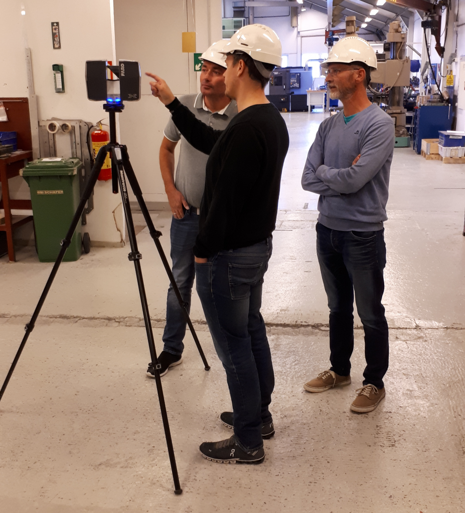 3D Laser Scanner Training